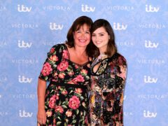 Daisy Goodwin with Jenna Coleman at the Victoria season two screening (Ian West/PA)