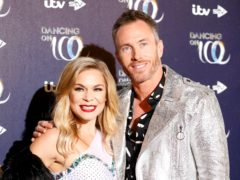 Former Strictly professional James Jordan was Dancing On Ice (David Parry/PA)