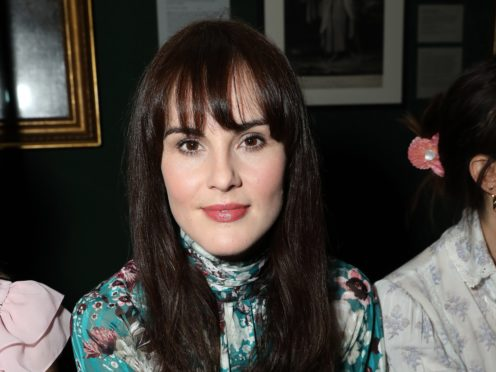 Michelle Dockery (Isabel Infantes/PA)