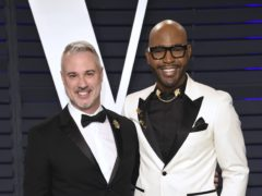 Queer Eye host Karamo Brown, pictured with partner Ian Jordan, has opened up on his cocaine addiction (Evan Agostini/Invision/AP)