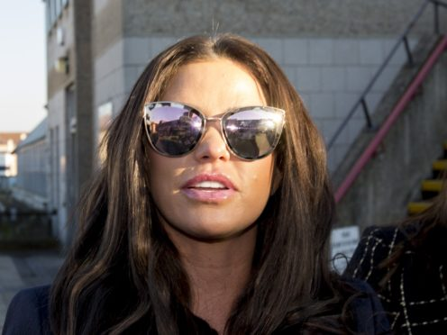 Katie Price has been criticised for failing to attend court (Rick Findler/PA)