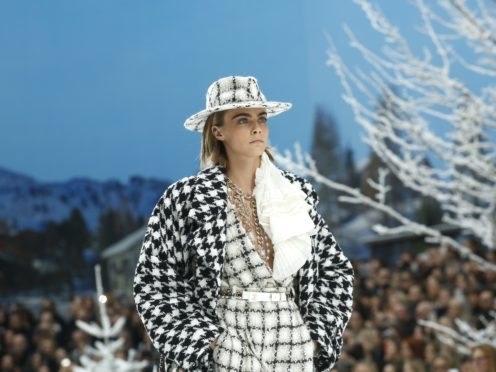 Cara Delevingne and Penelope Cruz among stars at Lagerfeld's final Chanel show (Thibault Camus/AP)