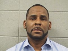 R Kelly is facing 10 counts of aggravated sexual abuse involving four women (Cook County Sheriff's Office/AP)