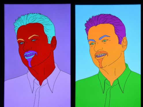 George Michael's art collection has been sold. (Kirsty O'Connor/PA)