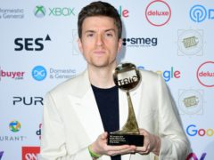 Greg James attending the TRIC Awards 2019 (Ian West/PA)