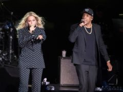 Beyonce and husband Jay-Z. Beyonce was named entertainer of the year at the annual NAACP Image Awards (Matt Rourke/AP)