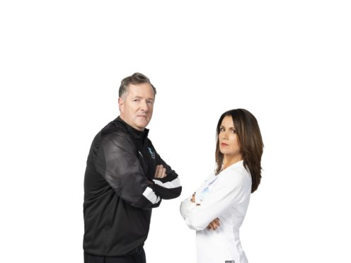 Piers Morgan and Susanna Reid will go head to head (Unicef/Watkins19)