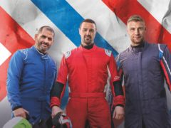 Chris Harris, Paddy McGuinness and Freddie Flintoff present the 27th series of Top Gear (Top Gear/BBC/PA)