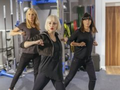 Tess Daly and Claudia Winkleman train hard ahead of their 24-hour danceathon (BBC/Comic Relief)