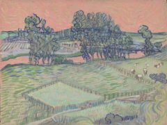 A digital reconstruction of Vincent Van Gogh's The Oise at Auvers (Tate)