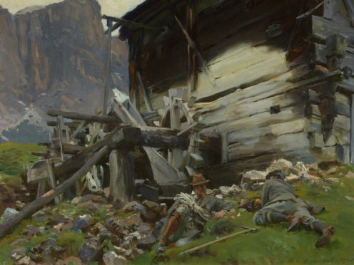 John Singer Sargent's In The Austrian Tyrol (PA)