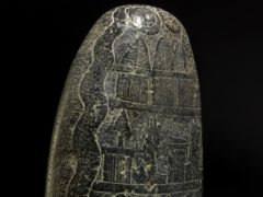 The stone dates to the reign of Babylonian king Nebuchadnezzar I (British Museum/PA)