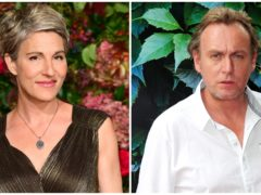 Tamsin Greig and Philip Glenister have been cast in Belgravia (Ian West/PA)