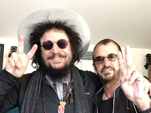 Don Was and Ringo Starr (Jazz FM Awards/PA)