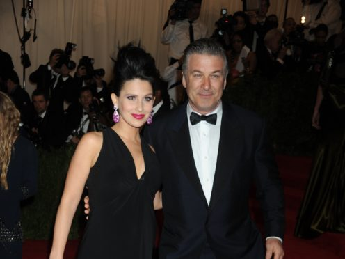 Hilaria Baldwin, the wife of Alec Baldwin (Denis Van Tine/PA)