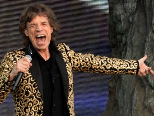 Sir Mick Jagger says he is 'feeling much better' (Anthony Devlin/PA)