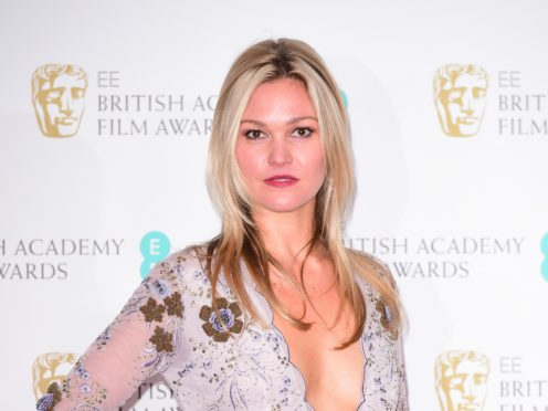 Julia Stiles has praised the treatment of gender in Riviera (Ian West/PA)
