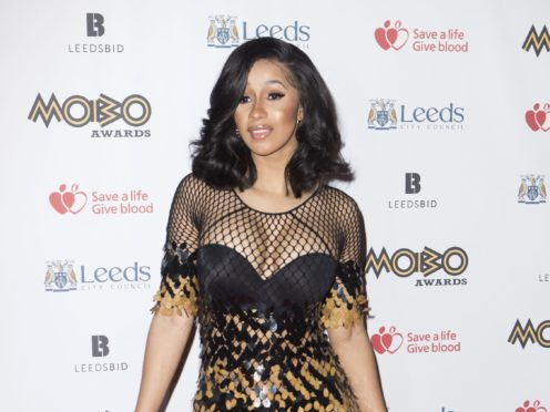 Cardi B leads nominations at the 2019 Billboard Music Awards (Danny Lawson/PA)