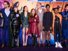 The cast of Avengers: Infinity War (Matt Crossick/PA)