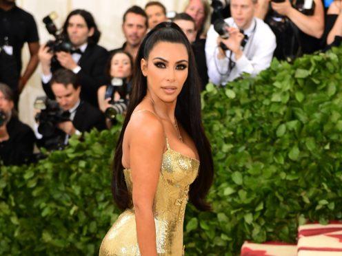 Kim Kardashian West recently revealed she hopes to become a criminal justice lawyer (Ian West/PA)