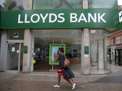 Lloyds Banking Group and RBS/NatWest had problems with online and mobile banking services on Monday (PA)