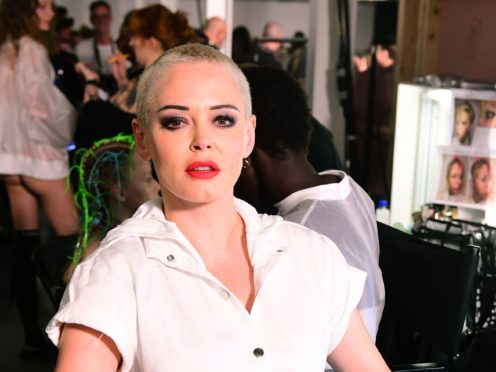 Rose McGowan has said she is a 'super taster' (Ian West/PA)
