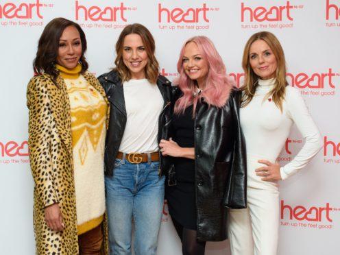 Emma Bunton brushes off rumours of Spice Girls rift as Mel B misses rehearsal (Matt Crossick/PA)