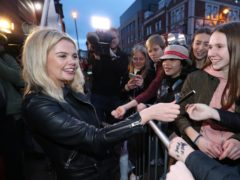 Actress Saoirse-Monica Jackson at the premiere of Derry Girls' second series (Niall Carson/PA)