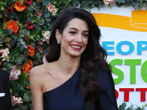 Amal Clooney (Andrew Milligan/PA)