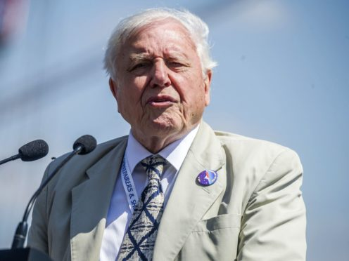 Sir David Attenborough (Peter Byrne/PA)