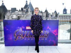 Scarlett Johansson stars in Avengers: Endgame (Ian West/PA)