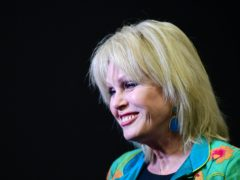 Joanna Lumley joins the Radio Times Hall of Fame (Ian West/PA)