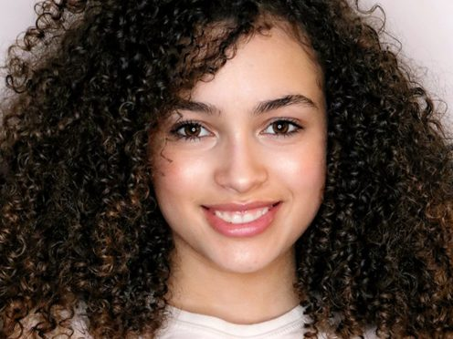 BBC children's TV star Mya-Lecia Naylor who has died aged 16 (A&J Management/Twitter/PA)