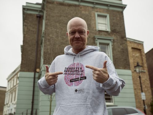 EastEnders star Jake Wood is running the London marathon to raise awareness of dementia (Dementia Revolution/PA)