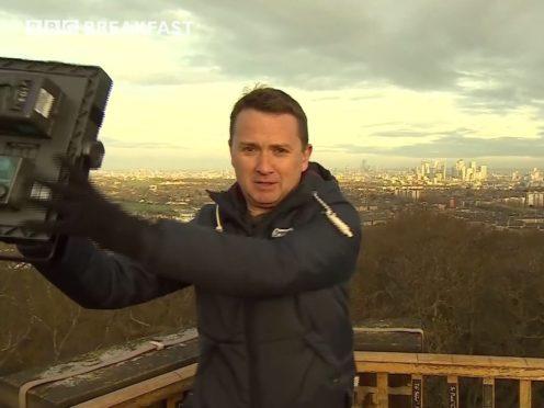 Matt Taylor on BBC Breakfast (BBC/PA)