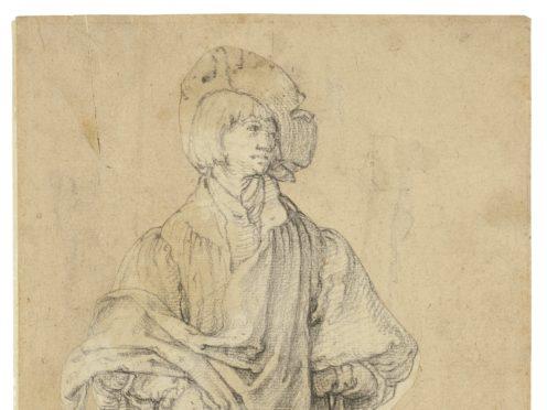 A Young Man Standing, by Dutch artist Lucas van Leyden has been described as 'a true treasure' (DCMS)