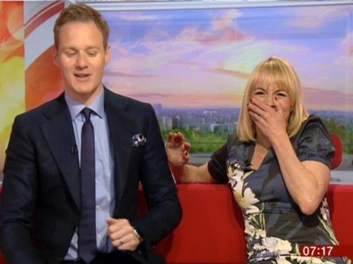 Louise Minchin and Dan Walker on BBC Breakfast (BBC/PA)