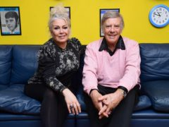 Kim Wilde and her father Marty Wilde at his home in Hertfordshire (Ian West/PA)
