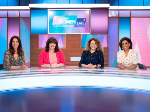 Loose Women will visit Birmingham with their live show (Loose Women/ITV/PA)