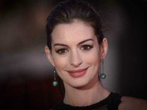 Anne Hathaway (Matt Crossick/PA)