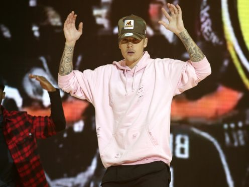 Justin Bieber has scored his seventh UK number one (Yui Mok/PA)