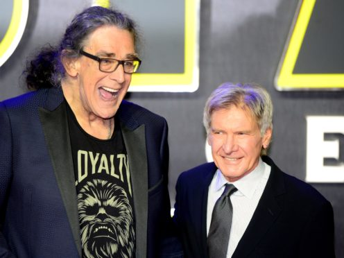 Harrison Ford has paid tribute to Peter Mayhew following his death aged 74 (Anthony Devlin/PA Wire )