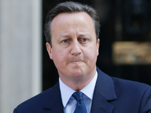 Prime Minister David Cameron announcing his resignation outside 10 Downing Street
