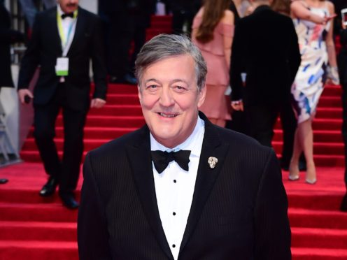 Stephen Fry has been recognised for lifetime achievement. (Ian West/PA)