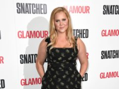 Amy Schumer has returned to the comedy stage two weeks after giving birth to her first child (Doug Peters/PA)
