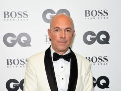 Dylan Jones is marking 20 years as editor of GQ magazine (Ian West/PA)