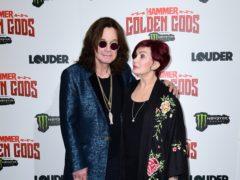 Sharon Osbourne said Ozzy had had 'a really tough year' (Ian West/PA)