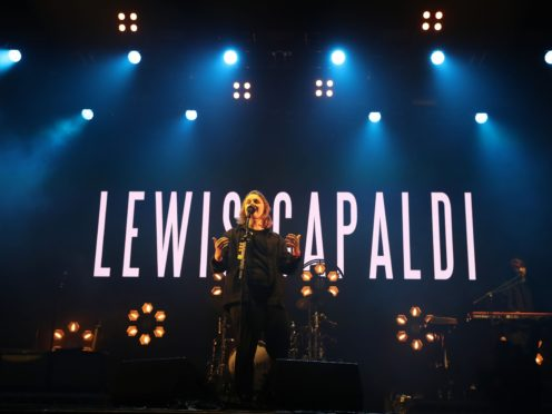 Lewis Capaldi (Andrew Milligan/PA)