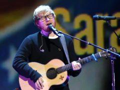 Ed Sheeran (Greg Allan/PA)