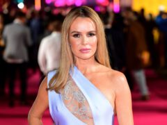 Amanda Holden: There have been no complaints at home about my BGT outfits (Ian West/PA)